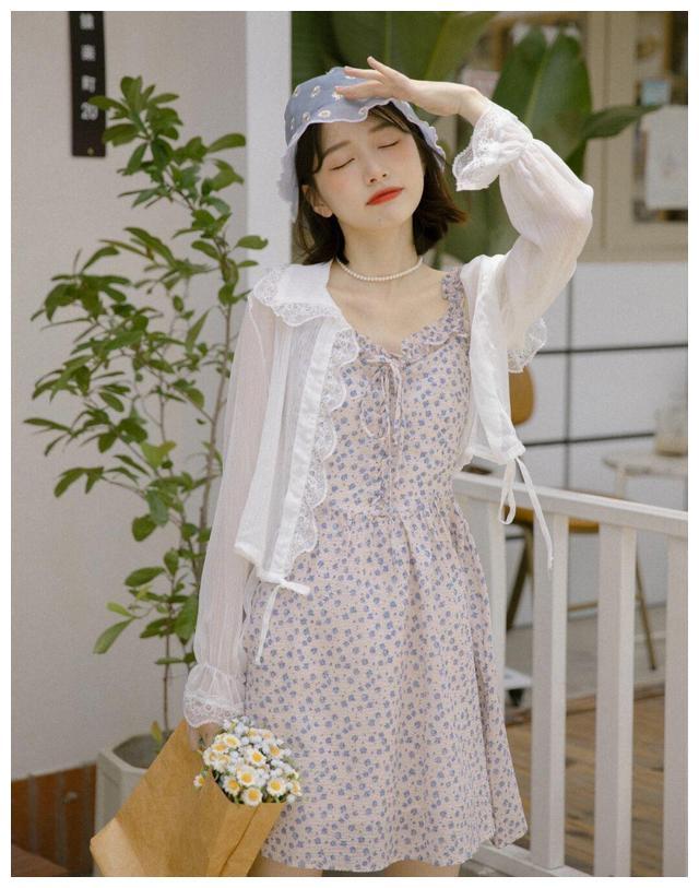 夏天,穿这些仙女裙就够了,不能错过的法式浪漫 ,高级时髦