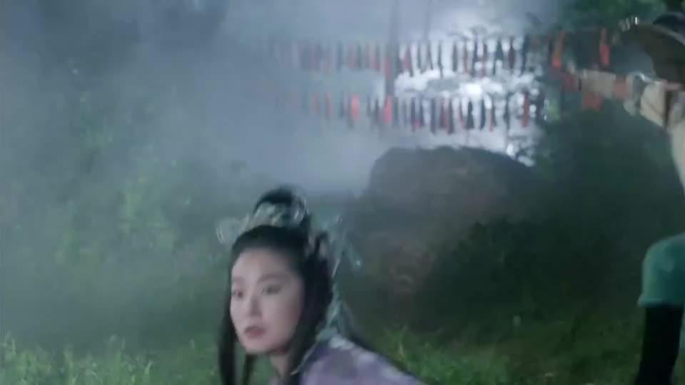 元彪林青霞姐弟相认,元彪劝姐姐及时收手,林青霞却无奈离去