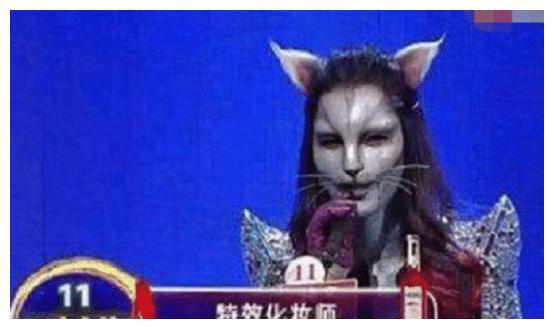 女嘉宾不愿以真貌示人,化妆成猫脸女孩无人敢碰,后来结果怎样?