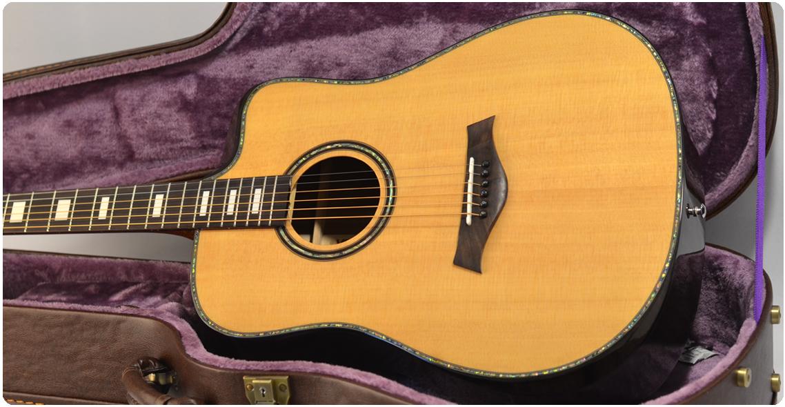 一款高颜值的单板民谣吉他—VEAZEN费森VZ100系列