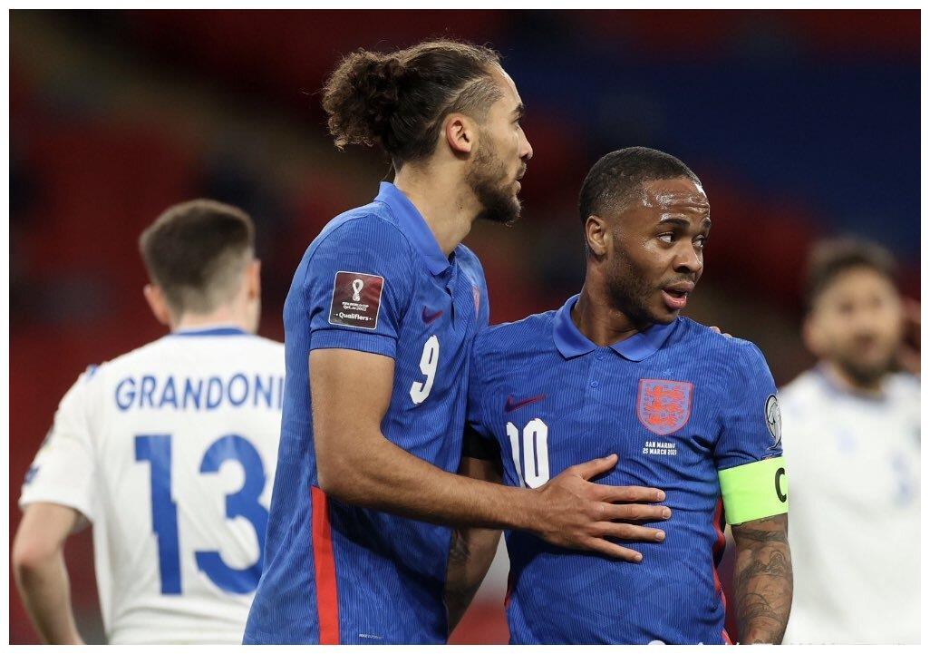 世预赛-英格兰5-0迎开门红,斯特林里程碑,勒温2球