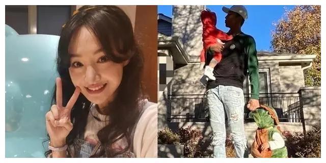 郑爽女儿侧颜长什么样子 郑爽的儿子和女儿照片