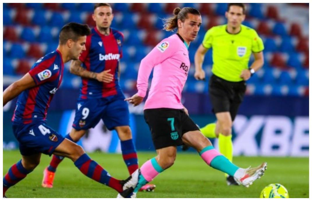 3:3梅西进球爆发,无奈科曼战术不给力,巴萨逐渐失去争冠的机会