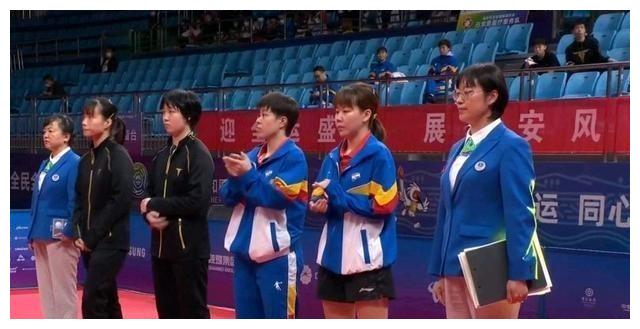 陈幸同与王艺迪杀进女双决赛,进攻力超强,成为夺冠热门