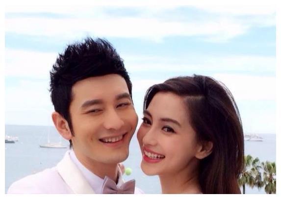 黄晓明杨颖夫妇罕见合体,带儿子小海绵去医院,力破婚变传闻