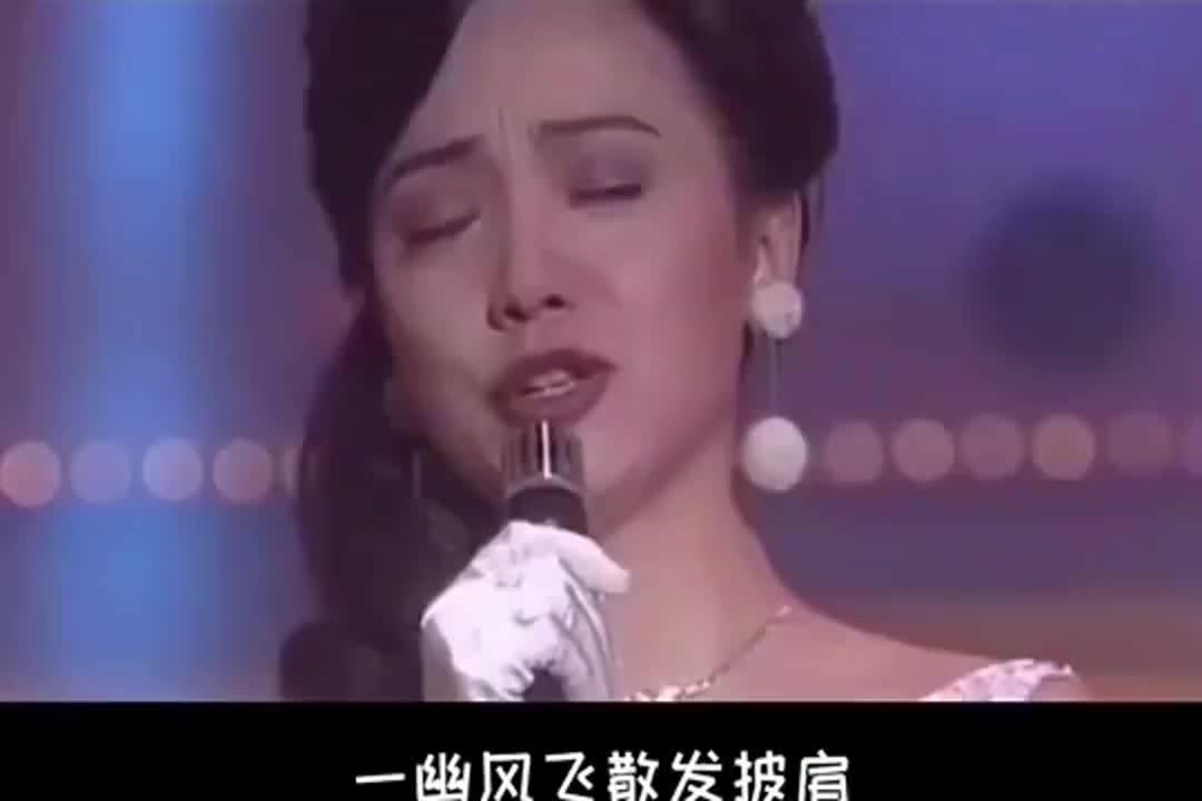 演技超群邓萃雯与李克勤演唱《一生不变》