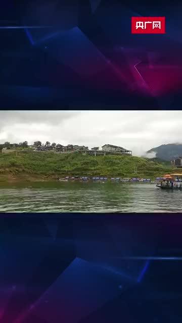 央广网记者实地探访贵州六枝特区客船侧翻事故救援现场