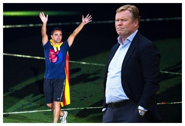 巴萨主帅科曼接近被炒,哈维将回巢带队巴塞罗那