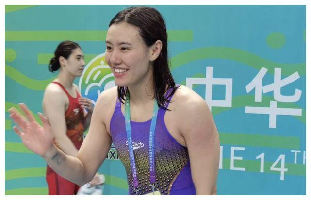游泳女神全运夺金,称:广东田径有苏炳添,游泳有我