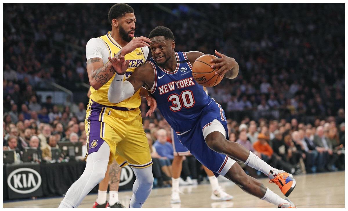 NBA:尼克斯VS马刺,兰德尔主场发威,马刺作客状态不稳