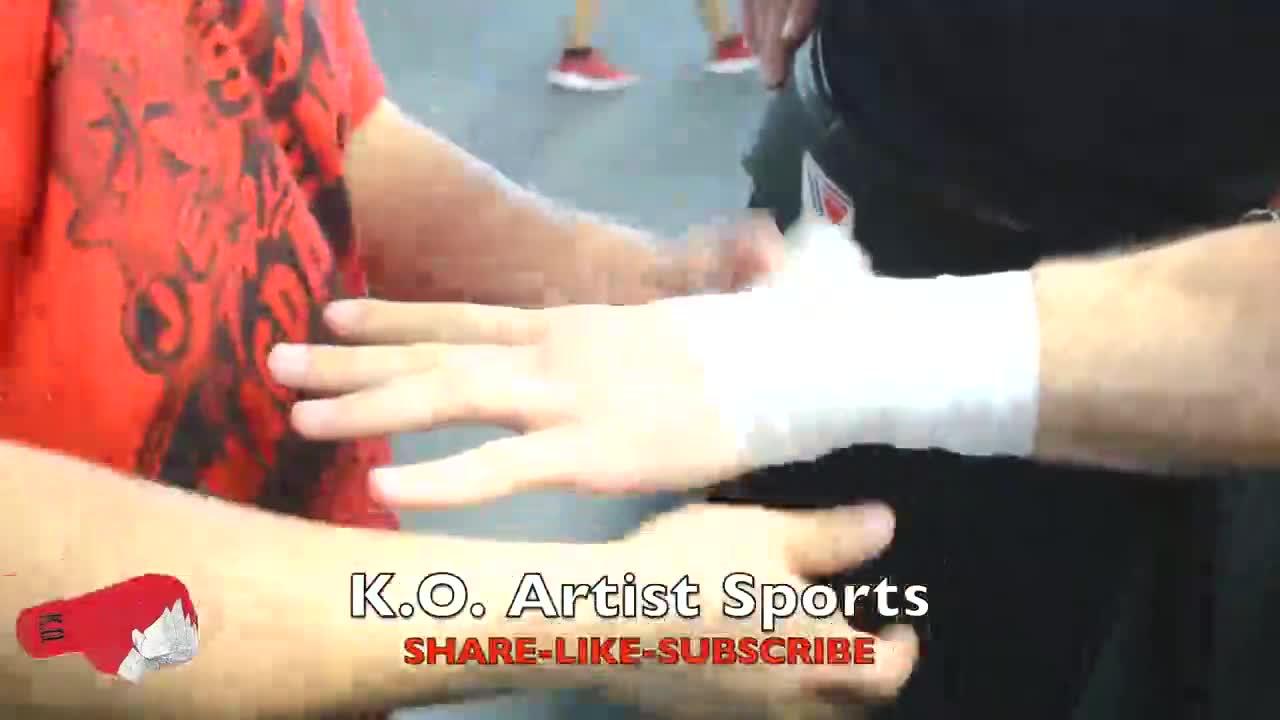 拳击手如何缠手?看看职业拳手缠手!