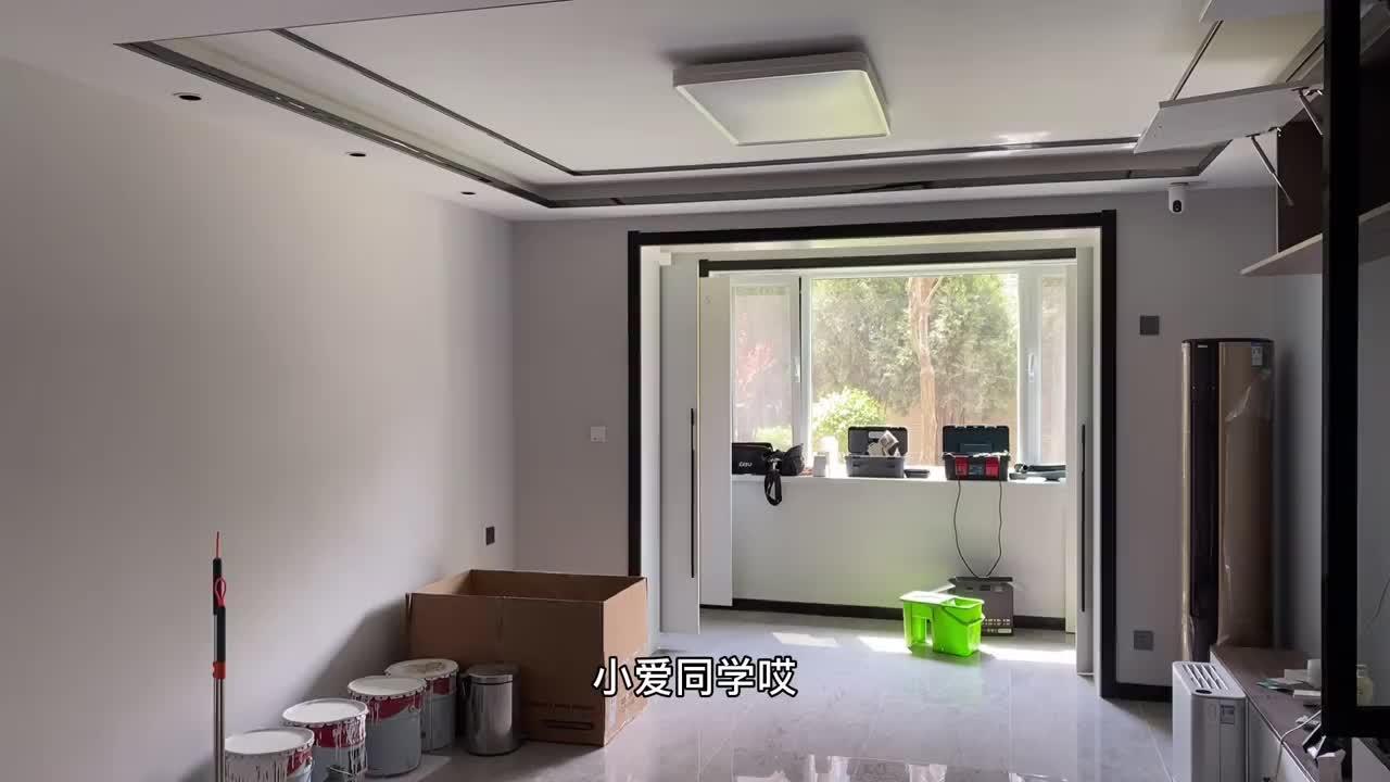135平米现代简约装修实景,精心设计的细节很多,邻居看了都夸赞