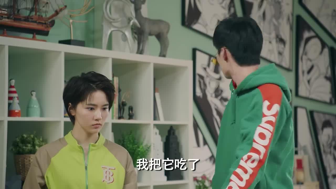 爱情公寓5:大力送给张伟的椅子,张伟不要,因此大力生气了