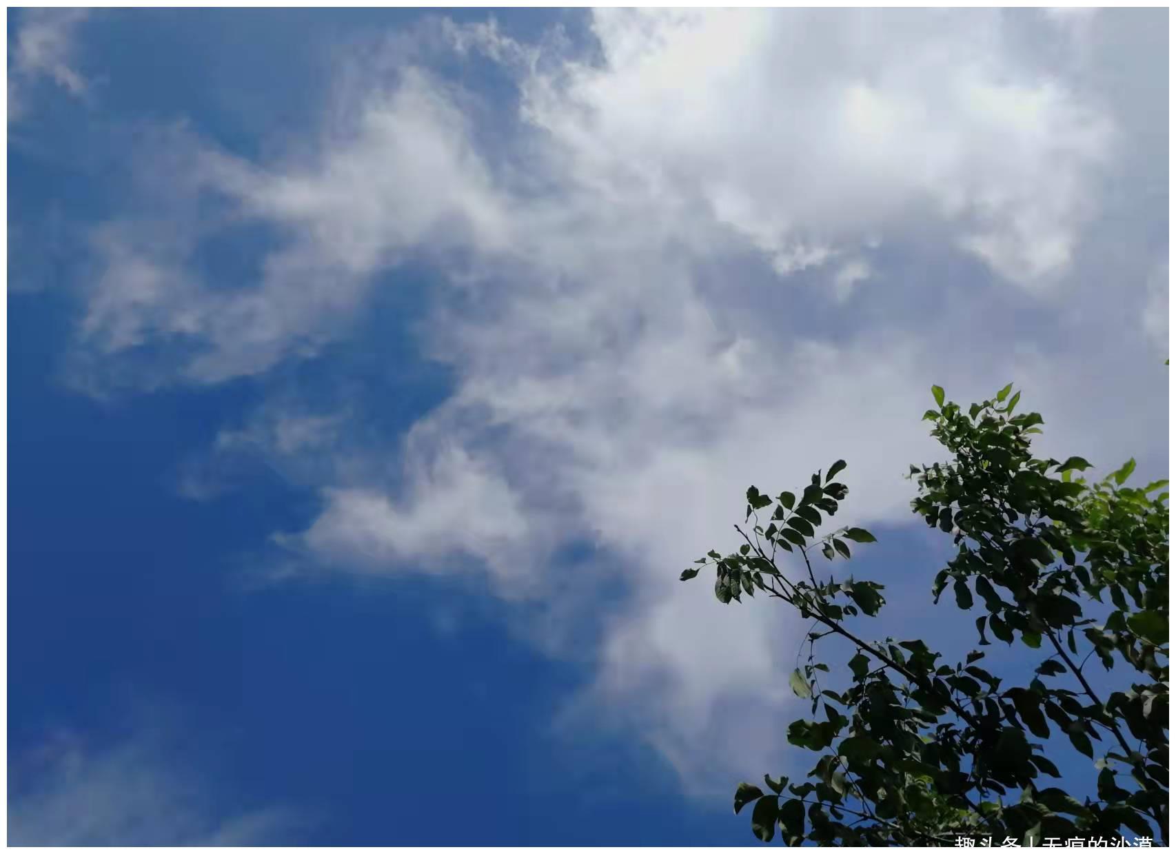 美好蔚蓝天空