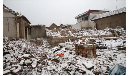 拆迁律师说案:房屋被拆成废墟,行政诉讼直击非法强拆