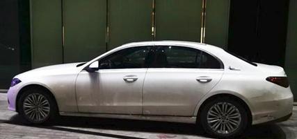 全新国产奔驰C级实车曝光,专供立标版亮相