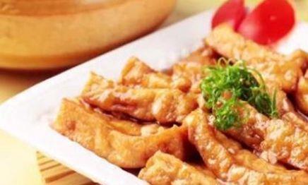 美食推荐:可乐豆腐,锦绣大虾,菠菜醋拌花生米,鸡肉粥的做法
