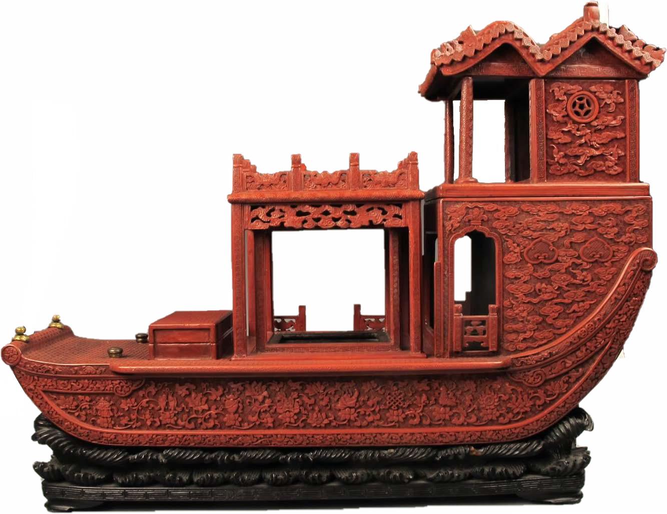 """剔红:古代经典的""""中国红"""""""
