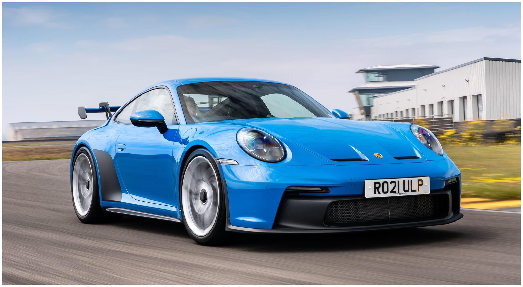 坚守自然吸气阵营,全新保时捷911 GT3实拍图发布