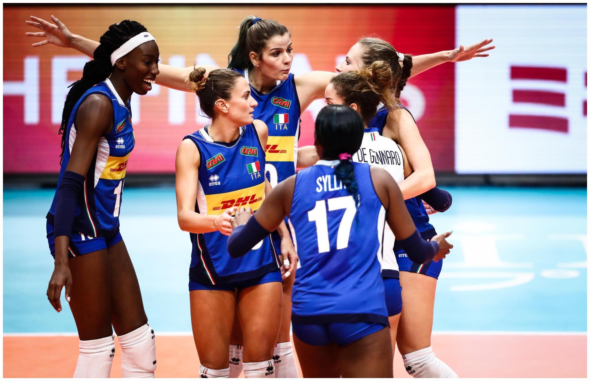 意大利女排奥运夺冠出问题,中国队成最大受益者