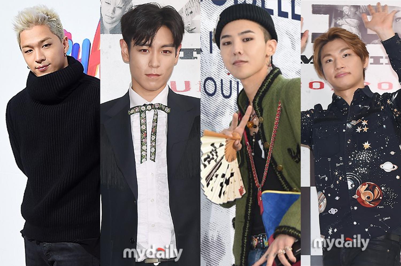BIGBANG与YG第三次续约 对今年内的复出充满期待