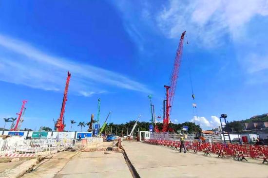沐鸣平台装修网 梅沙客厅支护桩完工实现基坑封闭止水,深圳首个旅游业态更新项目