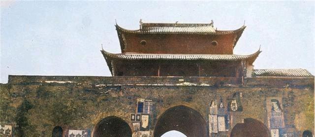 江苏老照片,1907年南京街头景象流出!看下这些场景你认得不