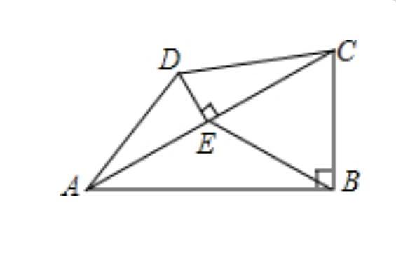 求图形面积的综合题,难度不大但很典型,关键是直角三角形性质