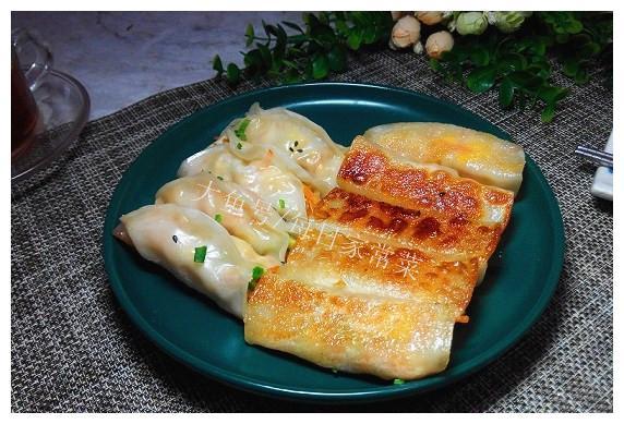 素三鲜锅贴也可以很好吃嘛!做法简单,不会包饺子都能轻松做