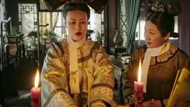 如懿传:甄嬛为夭折的公主祈祷,嘉贵妃每日被鞭打,自作自受