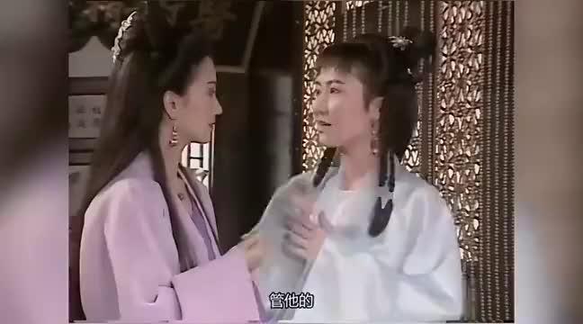 新白娘子传奇:许仙终于醒了,白素贞很开心,小青瞒住了许仙