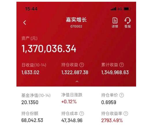 """《【杏耀app登录】嘉实归凯:给""""史上最强养基丈母娘""""管钱的基金经理》"""