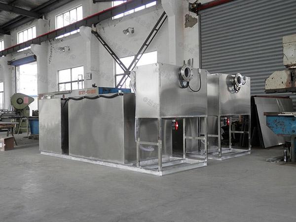 50吨每小时处理量的餐厨油污分离器适用场所