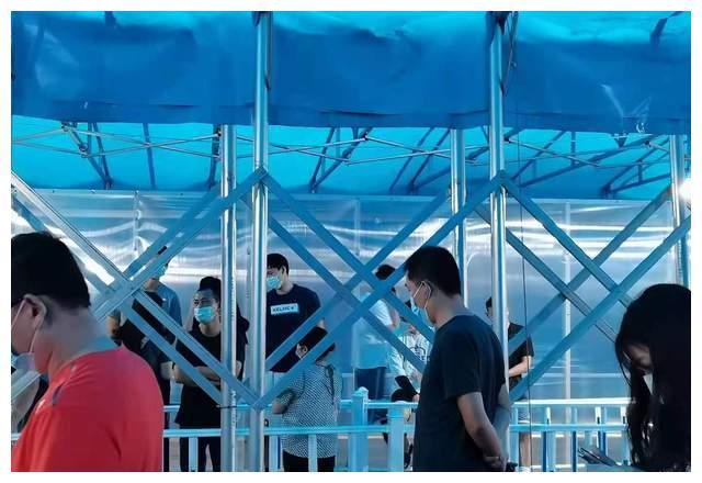 9月4号山东男篮做核酸检测,即将结束东营拉练,为全运会做准备