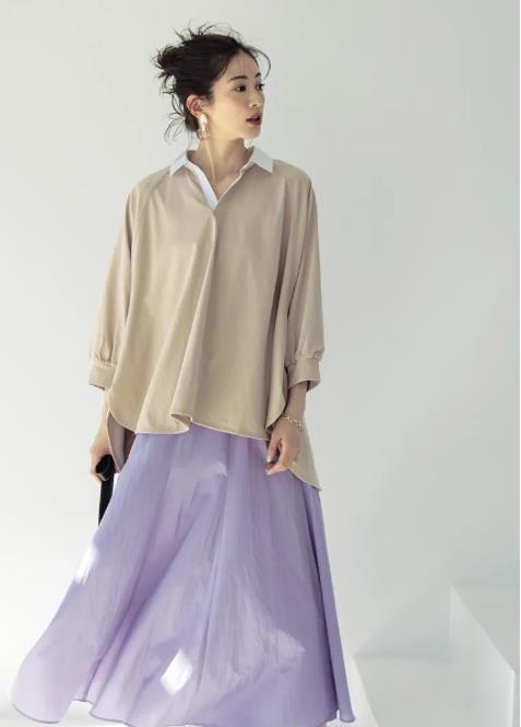 休闲知性的中年女士穿搭,跟着日杂精选的搭配学起来,穿出气质!