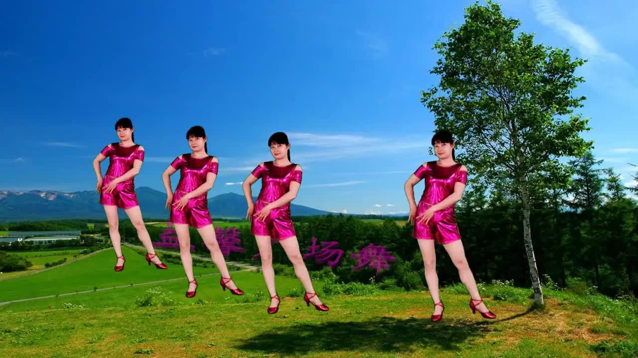 一支十六步,好比简单走走路,姐妹们可喜欢这样的广场舞?