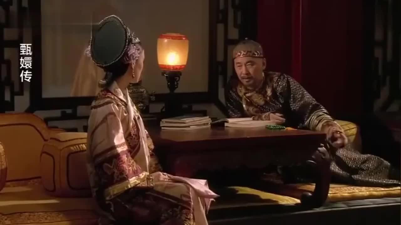 安陵容为父求情,甄嬛说出的一句话,最终让她失去希望