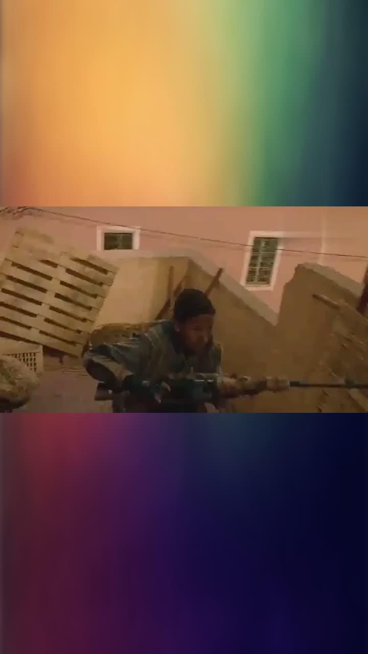 影视,狙击手终极对决,敌方被穿墙击毙,这枪法太厉害了!