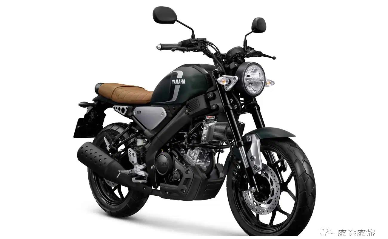 反击本田的冲击,雅马哈XSR 155复古摩托推出新配色!