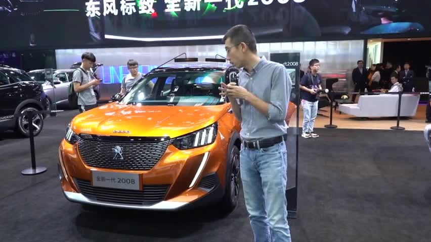 视频:广州车展李扬快评标致2008
