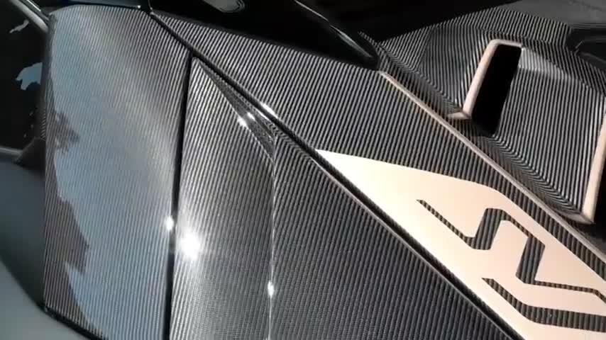 兰博基尼AventadorSVJ63,全球限量63台,太霸气了