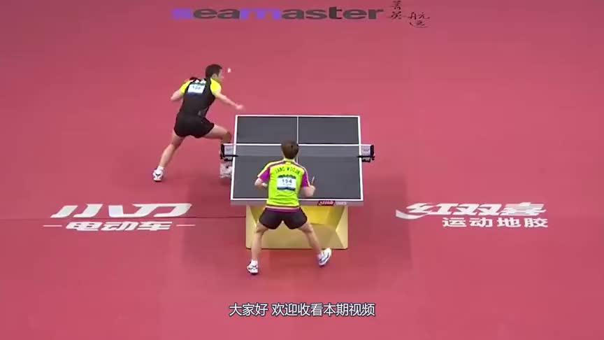 许昕赛场上唯一一次剃对方光头,对手是个韩国人,他究竟做了什么