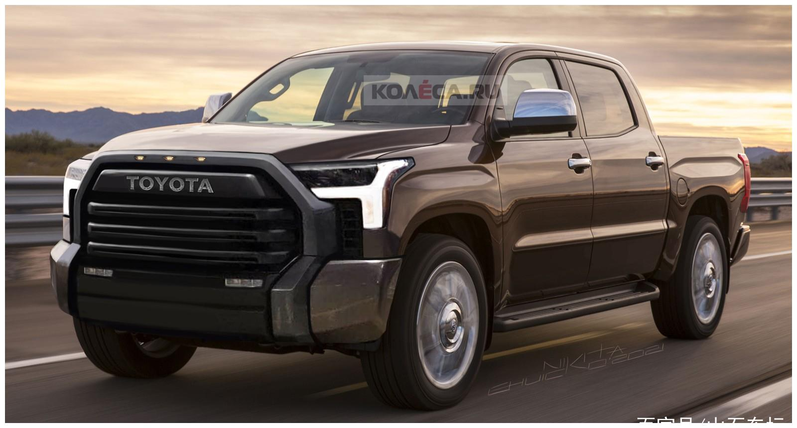 全新一代丰田坦途外观图曝光,外观变化明显,或将搭载3.5TT动力