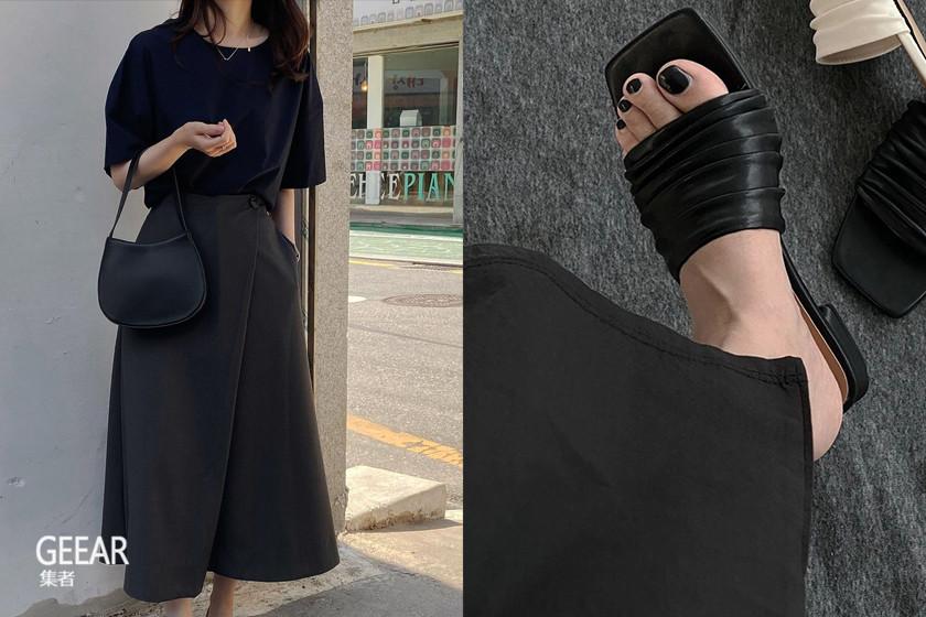 时髦女生难以割舍,全黑造型单品这样穿才有质感!