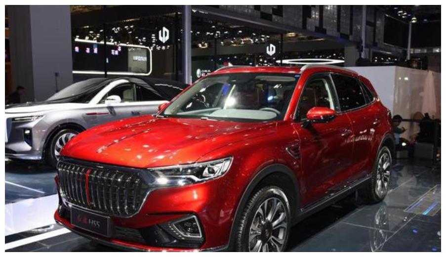 红旗HS5换全新车标,或第三季度正式上市