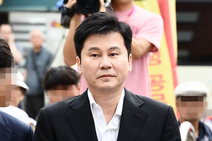 检方要求对YG原代表梁铉锡的赌博罪进行简易判决