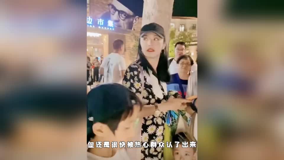 """网友偶遇姚晨素颜现身村口,大赞其""""很有素质讲礼貌"""""""