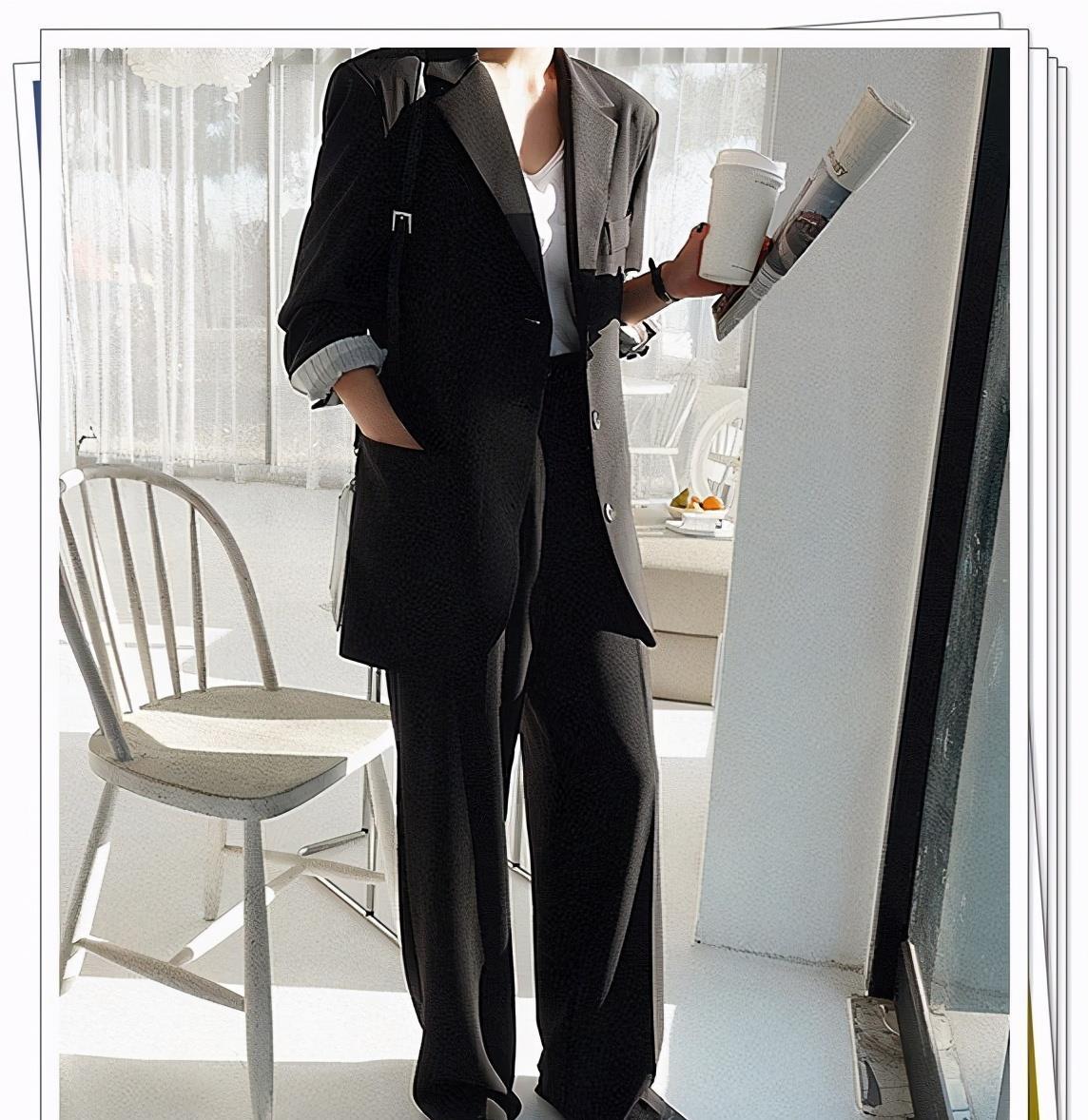女人怎么穿西装才好看?不同颜色西服的2021春季流行搭配推荐