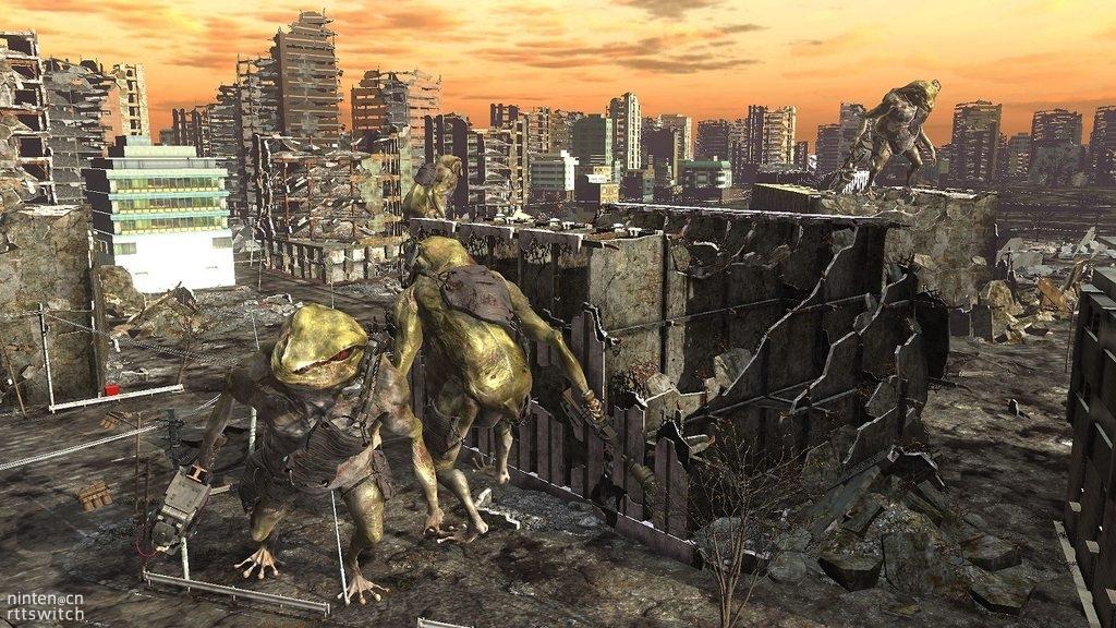 《地球防卫军6》剧情背景及大量截图释出