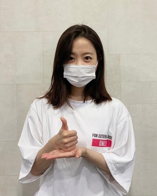 """朴宝英参加""""托您的福挑战"""" 表示对医疗人员感谢和尊敬"""